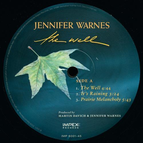 Jennifer Warnes The Well - 45RPM - Numbered - Sealed Vinyl Box Set US JENVXTH747918