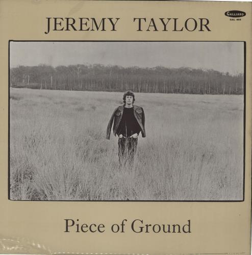 Jeremy Taylor Piece Of Ground vinyl LP album (LP record) UK KX4LPPI659904