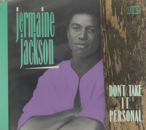 "Jermaine Jackson Don't Take It Personal CD single (CD5 / 5"") German JJAC5DO134072"