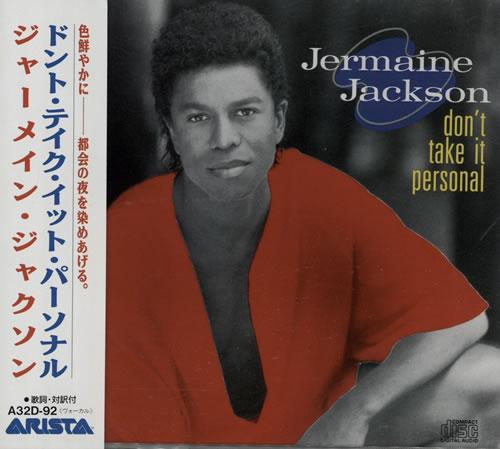 Jermaine Jackson Don't Take It Personal CD album (CDLP) Japanese JJACDDO184982