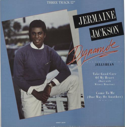"Jermaine Jackson Dynamite 12"" vinyl single (12 inch record / Maxi-single) UK JJA12DY91108"