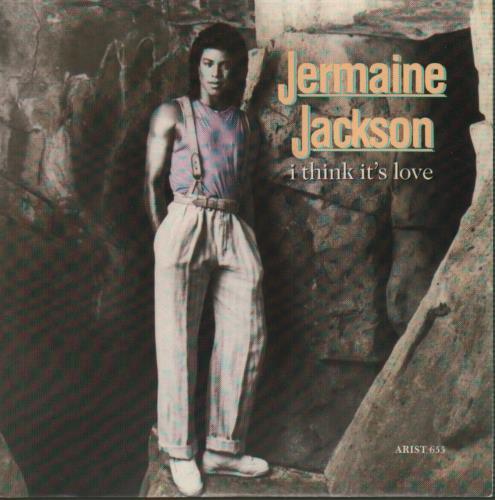 "Jermaine Jackson I Think It's Love 7"" vinyl single (7 inch record) UK JJA07IT99755"