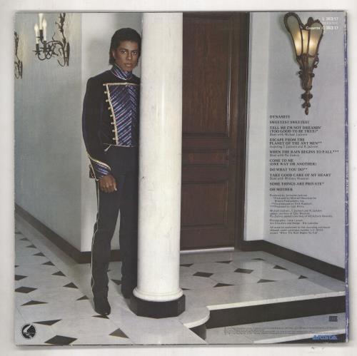 Jermaine Jackson Jermaine Jackson vinyl LP album (LP record) Australian JJALPJE737614