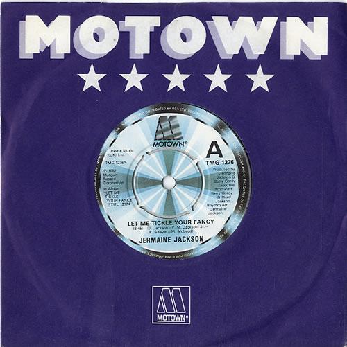 "Jermaine Jackson Let Me Tickle Your Fancy 7"" vinyl single (7 inch record) UK JJA07LE633081"