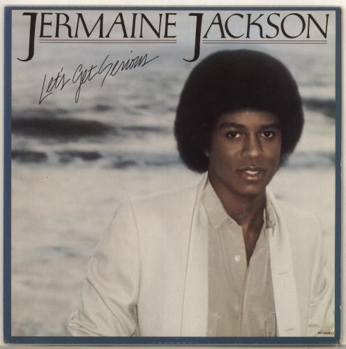 Jermaine Jackson Let's Get Serious vinyl LP album (LP record) US JJALPLE561739