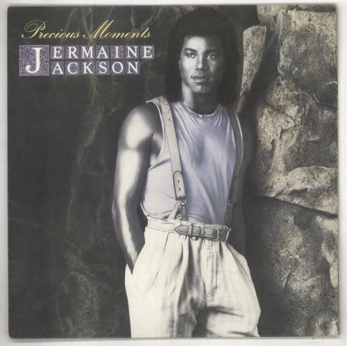 Jermaine Jackson Precious Moments vinyl LP album (LP record) Australian JJALPPR737630