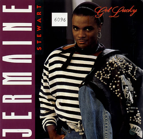 """Jermaine Stewart Get Lucky - Numbered 7"""" vinyl single (7 inch record) UK JMA07GE593661"""