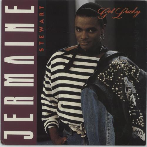 "Jermaine Stewart Get Lucky 7"" vinyl single (7 inch record) UK JMA07GE665149"