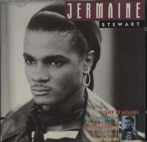 Jermaine Stewart Say It Again CD album (CDLP) German JMACDSA667328