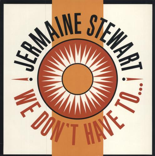 """Jermaine Stewart We Don't Have To Take Our Clothes Off 12"""" vinyl single (12 inch record / Maxi-single) UK JMA12WE559233"""