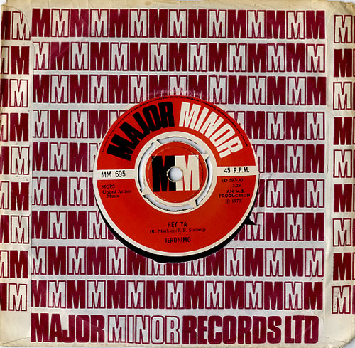 """Jeronimo Hey Ya 7"""" vinyl single (7 inch record) UK K0207HE611913"""