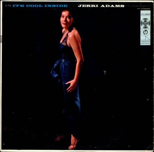 Jerri Adams It's Cool Inside - Autographed vinyl LP album (LP record) US J4-LPIT530340