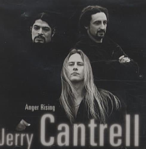 "Jerry Cantrell Anger Rising CD single (CD5 / 5"") US JRCC5AN215505"