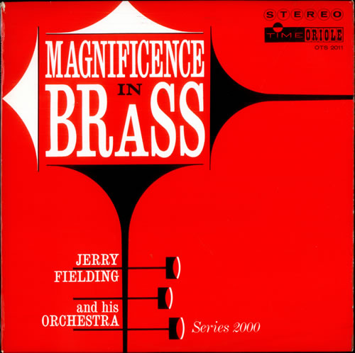 Jerry Fielding Magnificence In Brass vinyl LP album (LP record) UK J2TLPMA513399