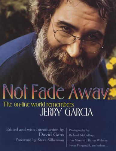 Jerry Garcia Not Fade Away book US JGCBKNO372441