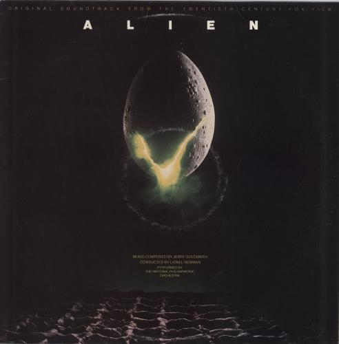 Jerry Goldsmith Alien vinyl LP album (LP record) UK J-0LPAL567631