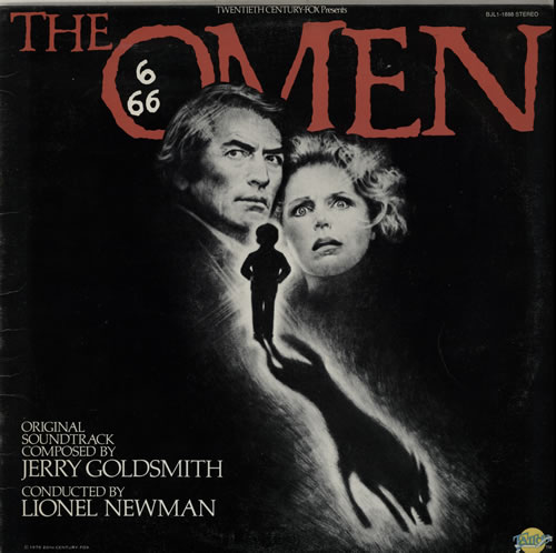 Jerry Goldsmith The Omen vinyl LP album (LP record) US J-0LPTH584164