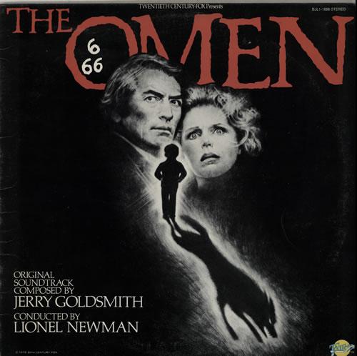 Jerry Goldsmith The Omen vinyl LP album (LP record) US J-0LPTH584164