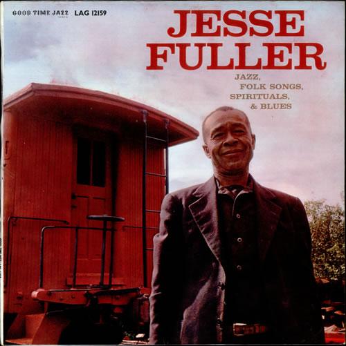 Jesse Fuller Jesse Fuller vinyl LP album (LP record) UK JLRLPJE534397