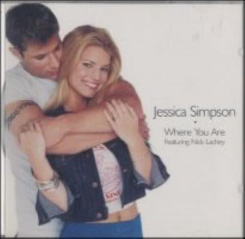 "Jessica Simpson Where You Are CD single (CD5 / 5"") US JPSC5WH155263"
