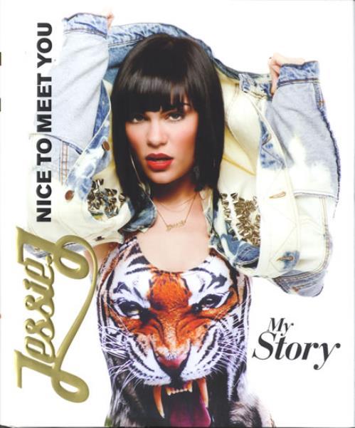 Jessie J Nice To Meet You - My Story book UK J5SBKNI574453