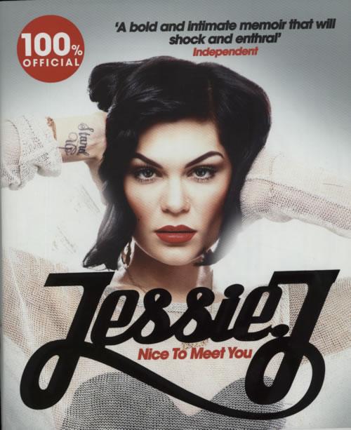Jessie J Nice To Meet You book UK J5SBKNI593112