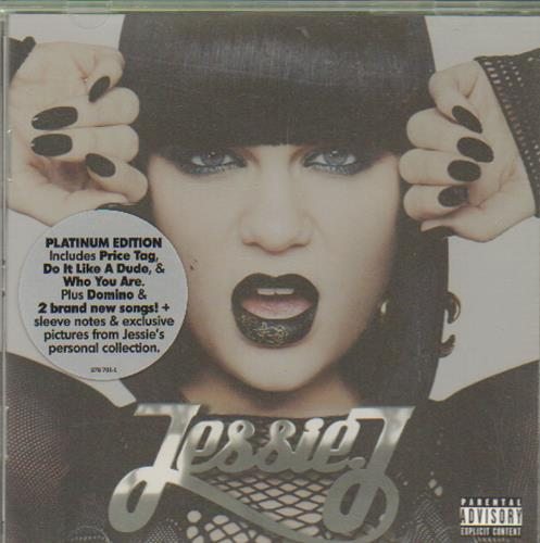 Jessie J Who You Are CD album (CDLP) UK J5SCDWH665831