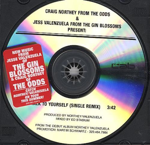 Jess Valenzuela Talk To Yourself CD-R acetate US JE-CRTA364085