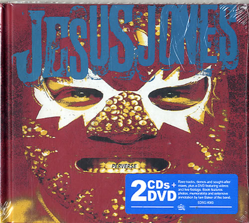 Jesus Jones Perverse - Deluxe Edition 3-disc CD/DVD Set UK JEJ3DPE620708
