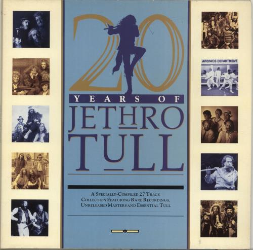 Jethro Tull 20 Years Of Jethro Tull 2-LP vinyl record set (Double Album) UK TUL2LYE186850