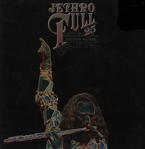 Jethro Tull 25th Anniversary Programme tour programme UK TULTRTH143124
