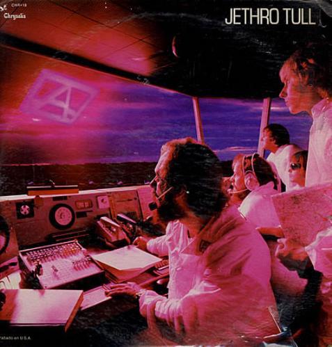 Jethro Tull 'A' vinyl LP album (LP record) Mexican TULLPA276824