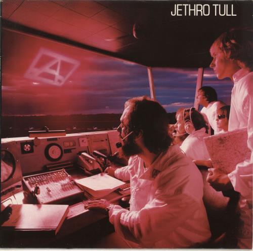 Jethro Tull 'A' vinyl LP album (LP record) German TULLPA357443