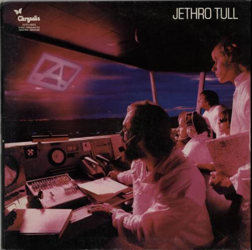 Jethro Tull 'A' vinyl LP album (LP record) Argentinean TULLPA604261