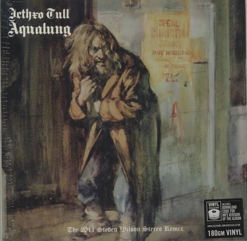 Jethro Tull Aqualung - 180gram Vinyl + Sealed vinyl LP album (LP record) UK TULLPAQ679294