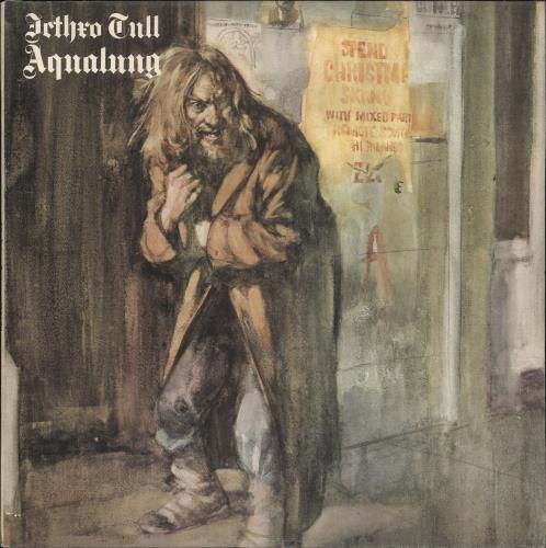Jethro Tull Aqualung - 1st - Complete - EX vinyl LP album (LP record) UK TULLPAQ263845