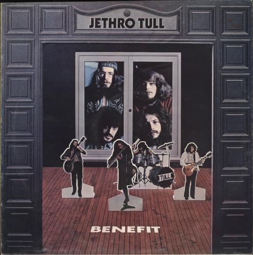 Jethro Tull Benefit - 3rd - VG vinyl LP album (LP record) UK TULLPBE708365