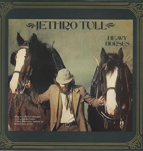Jethro Tull Heavy Horses - 1st vinyl LP album (LP record) UK TULLPHE70414