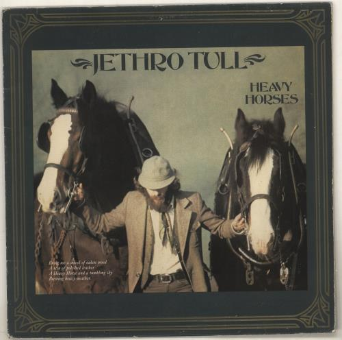 Jethro Tull Heavy Horses - 1st vinyl LP album (LP record) UK TULLPHE729967