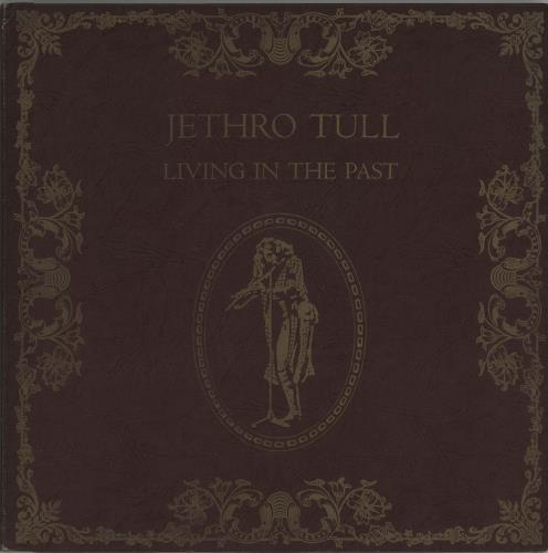Jethro Tull Living In The Past - 1st - Hardback + Obi 2-LP vinyl record set (Double Album) Japanese TUL2LLI662568
