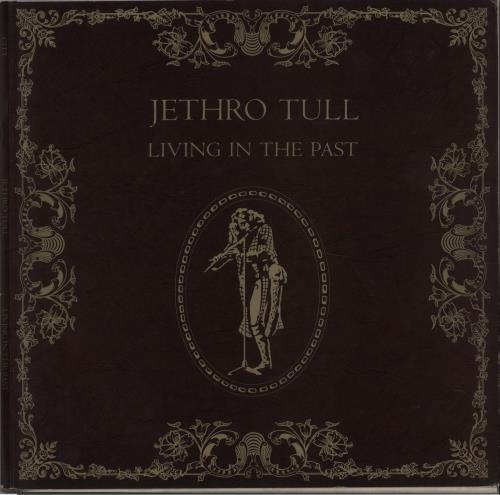 Jethro Tull Living In The Past - Hardback - VG 2-LP vinyl record set (Double Album) UK TUL2LLI671547