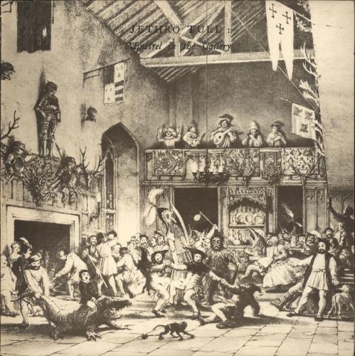 Jethro Tull Minstrel In The Gallery - 1st vinyl LP album (LP record) UK TULLPMI75315