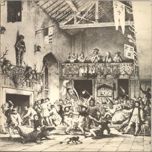 Jethro Tull Minstrel In The Gallery - 2nd vinyl LP album (LP record) UK TULLPMI693403