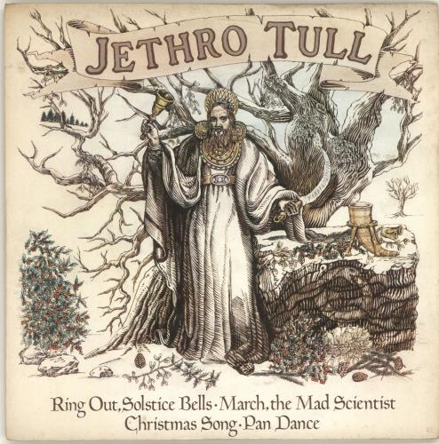"Jethro Tull Ring Out Solstice Bells EP - P/S 7"" vinyl single (7 inch record) UK TUL07RI51415"