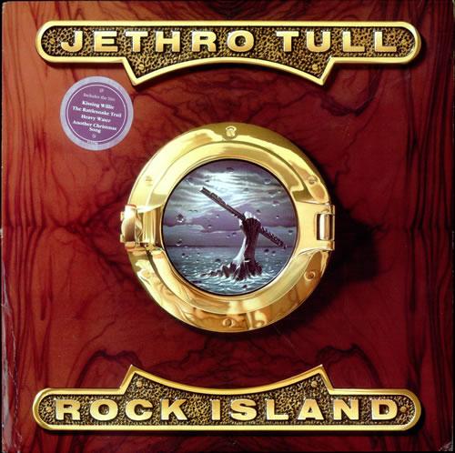 Jethro Tull Rock Island vinyl LP album (LP record) US TULLPRO123282