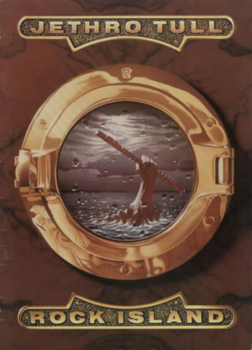 Jethro Tull Rock Island tour programme UK TULTRRO592689