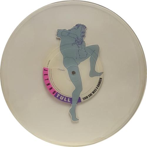 Jethro Tull Said She Was A Dancer uncut picture disc (vinyl) UK TULUNSA651304