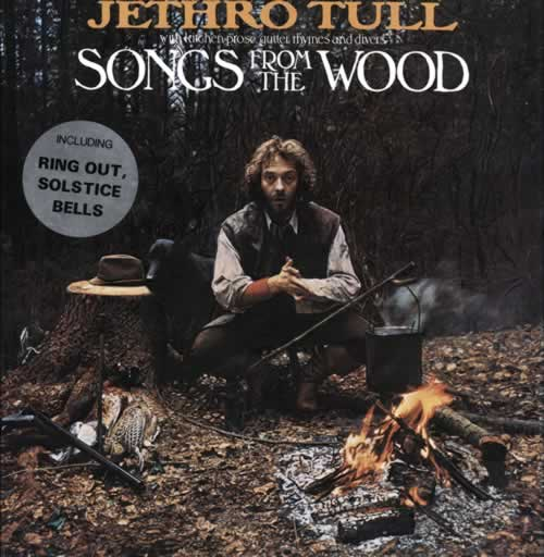 Jethro Tull Songs From The Wood - 1st - Complete - Stickered vinyl LP album (LP record) UK TULLPSO75316