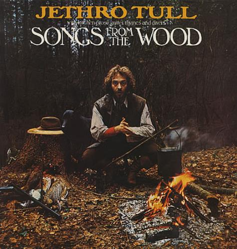 Jethro Tull Songs From The Wood - 2nd vinyl LP album (LP record) UK TULLPSO314177