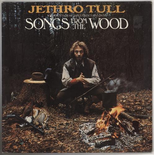 Jethro Tull Songs From The Wood - 3rd - EX vinyl LP album (LP record) UK TULLPSO740948
